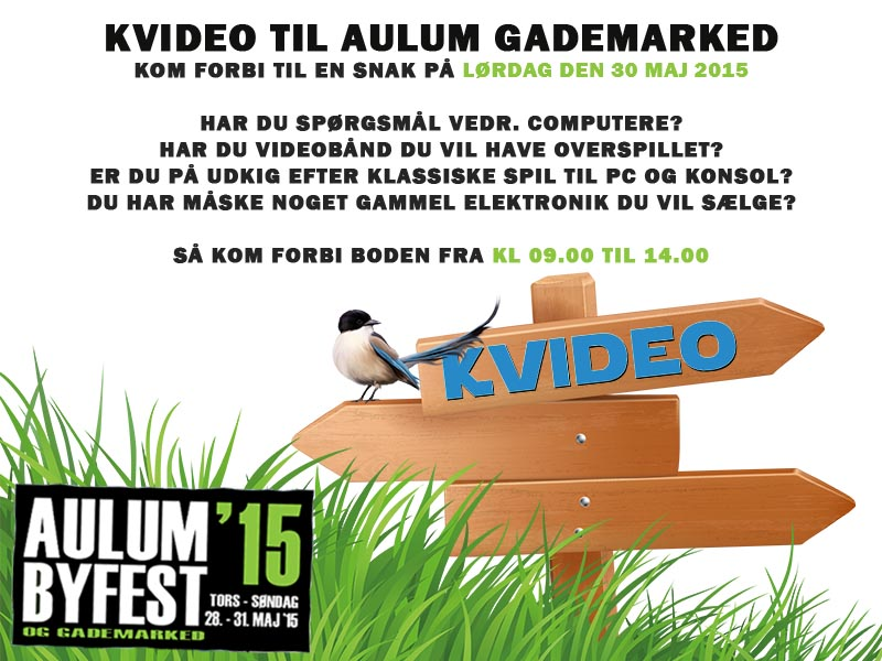Kvideo til Aulum Gademarked 2015